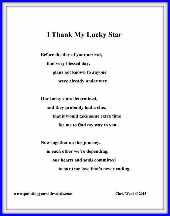 I Thank My Lucky Star - social media