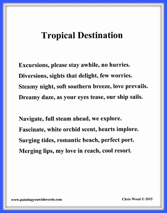 Tropical Destination - Social Media