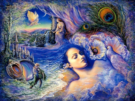 Painting used with the kind permission of Josephine Wall, www.josephinewall.co.uk