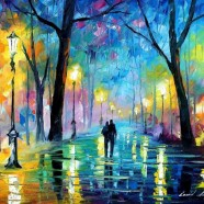 My New Years Poems with Artwork by Leonid Afremov