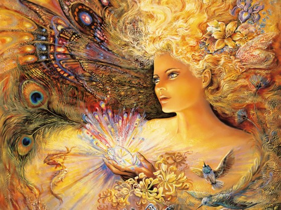 Painting used by permission, Josephine Wall, www.josephinewall.co.uk
