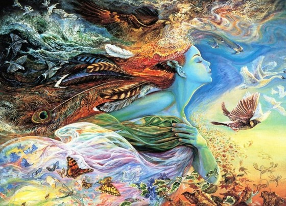 Painting used by permission, Josephine Wall, http://www.josephinewall.co.uk