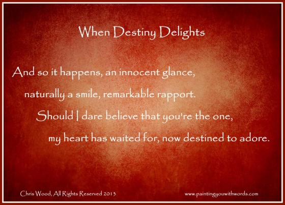 When Destiny Delights