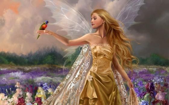 Картина фея