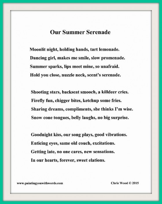 Our Summer Serenade