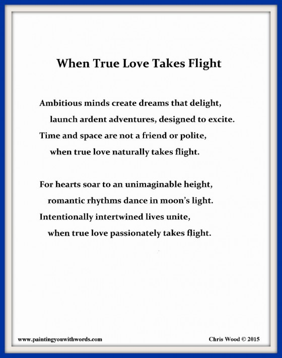When True Love Takes Flight