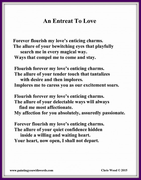 An Entreat To Love
