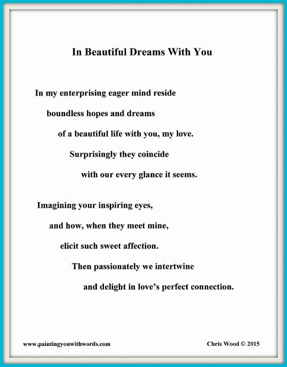 In Beautiful Dreams With You - social media