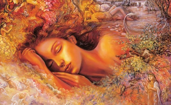 Artwork credit with great appreciation to Josephine Wall