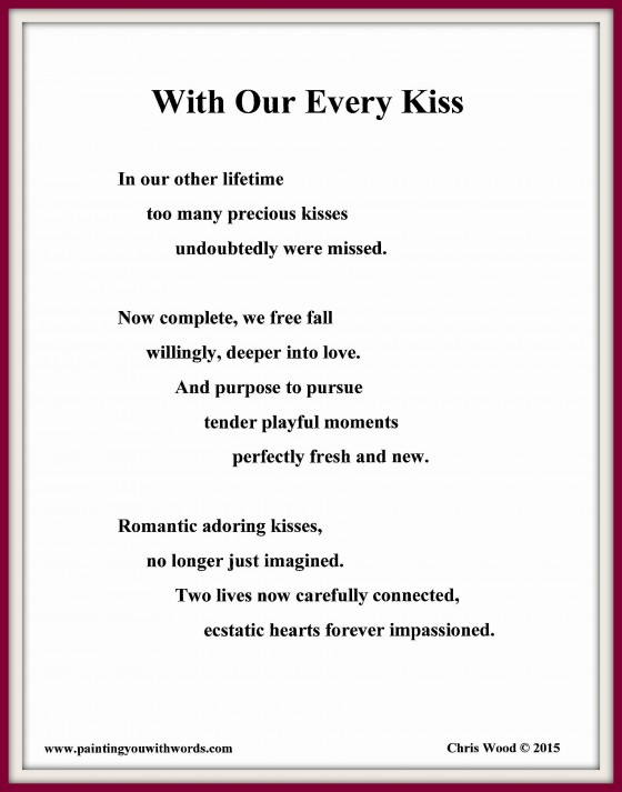With Our Every Kiss