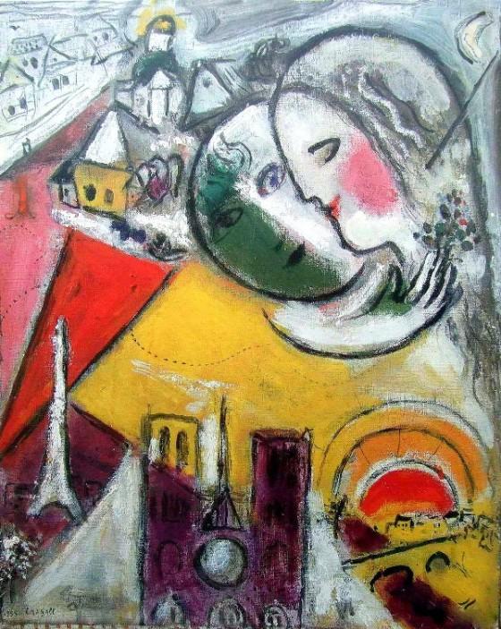 "Art credit, Marc Chagall, ""Sunday"""