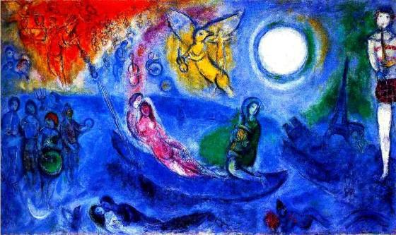 "Art credit, Marc Chagall, ""The Concert"""