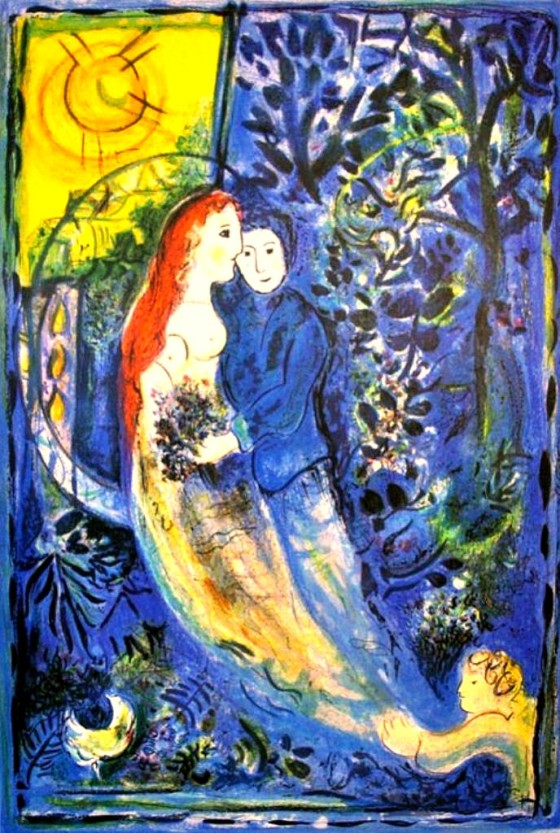 "Art credit, Marc Chagall, ""Wedding"""