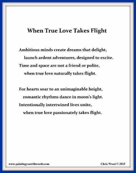 When True Love Takes Flight ~ social media