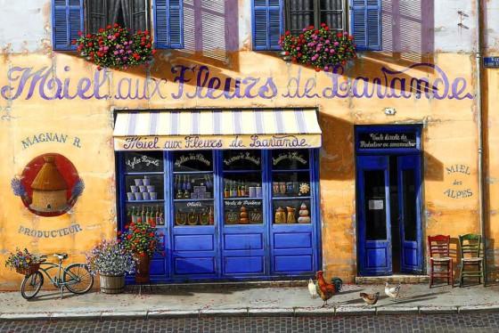 """""""Miel aux Fleurs de Lavande"""" Artwork credit to Liudmila Kondakova"""