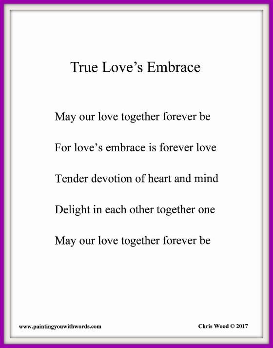 True Love's Embrace - social media